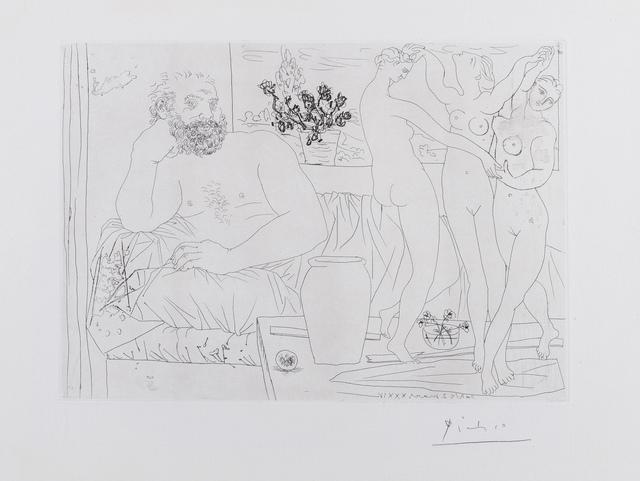 Pablo Picasso, 'Sculpteur et Trois Danseuses Sculptees (Bloch 217)', 1934, Forum Auctions