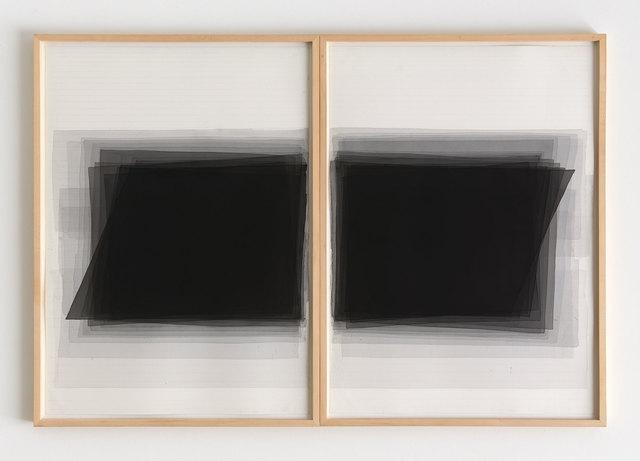 , 'untitled, 18.2. 2004 (two-piece work),' 2004, Japan Art - Galerie Friedrich Mueller