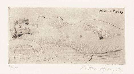 Reclining Nude (L. 22)