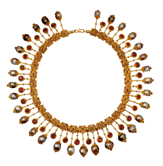 , 'Pearl necklace,' ca. 1880, Véronique Bamps