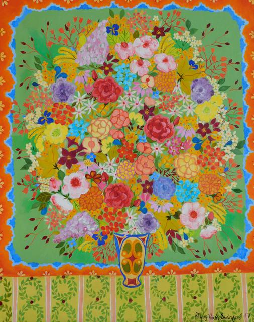 , 'Wild Roses,' 2017, Rebecca Hossack Art Gallery