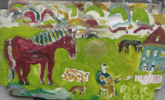 , 'With Guitar and Horse,' 2012, Red Arrow Gallery