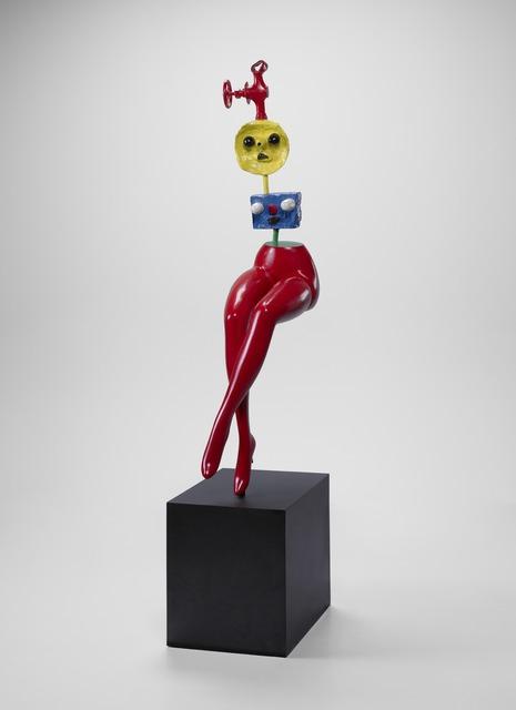 Joan Miró, 'Jeune Fille s'échappant (Girl Escaping)', 1968, Yale University Art Gallery