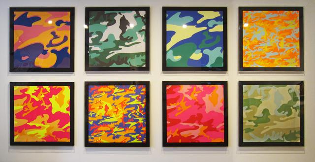 Andy Warhol, 'Camouflage (Portfolio of 8)', 1987, Print, Screenprint on Lenox Museum Board, Collectors Contemporary