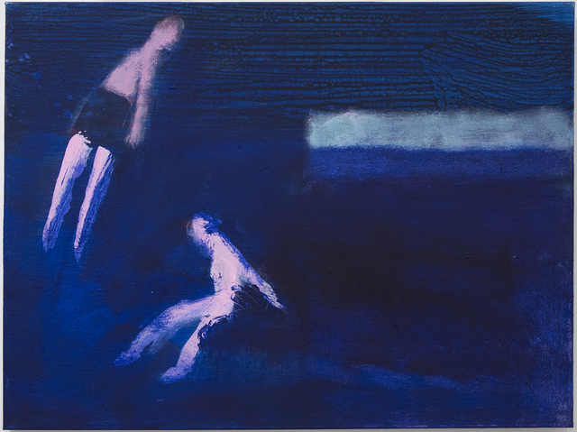 , 'Two Swimmers, Ultra Marine,' 2016, Sperone Westwater