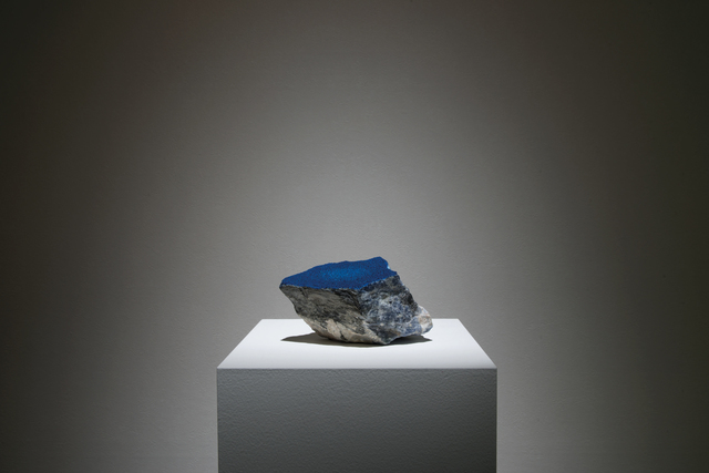 , 'Reflection field - Sodalite,' 2017, Olivier Malingue