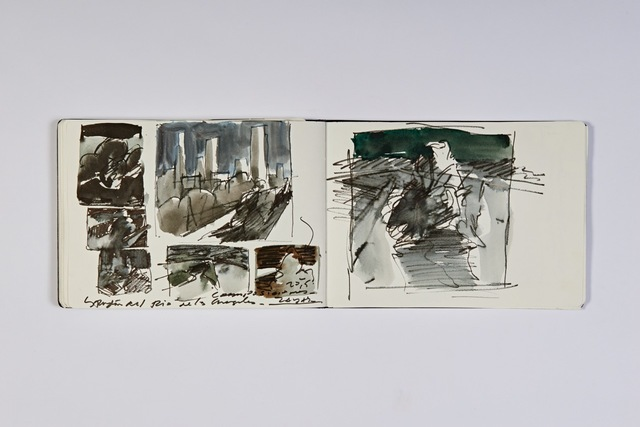 , 'L.A. Sketchbook 2,' 2015, Abmeyer + Wood Fine Art
