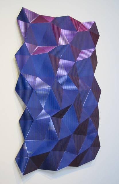 , 'Hexagonal Perturbation (Violet),' 2011 , Wilding Cran Gallery