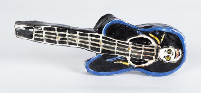 Gerald Wiggins, 'Black Guitar', 2018, Creativity Explored
