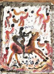 Untitled (Figures on Horses)