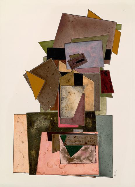 , 'Cards,' 1988, Hamiltons Gallery