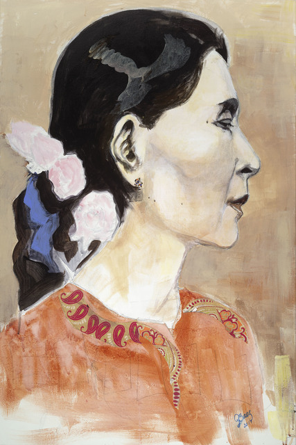 , 'Aung San Suu Kyi,' 2017, Seager Gray Gallery