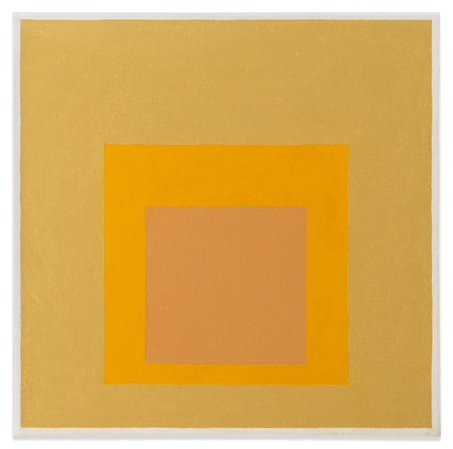 , 'Homage to the Square,' 1961, Miles McEnery Gallery