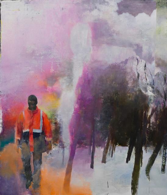 , 'Outland,' 2016, Parafin