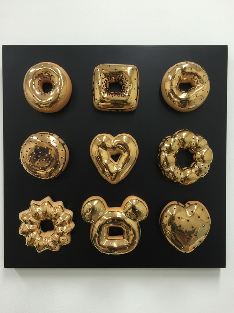 , 'It is gold and I donut care.,' 2015, Gallery Yeh