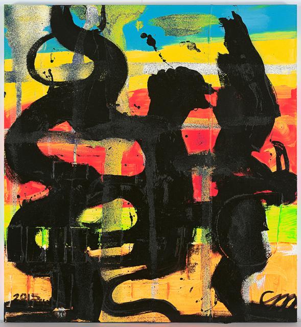 , 'Snake Puma Condor 3,' 2015, Anton Kern Gallery