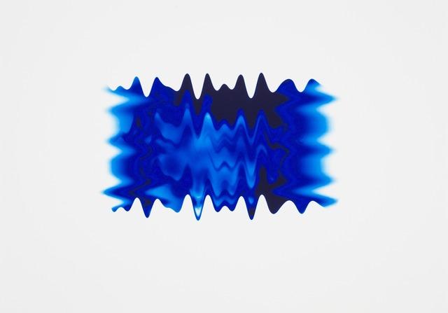 , 'New Wave Blue II,' 2013, Paul Stolper Gallery
