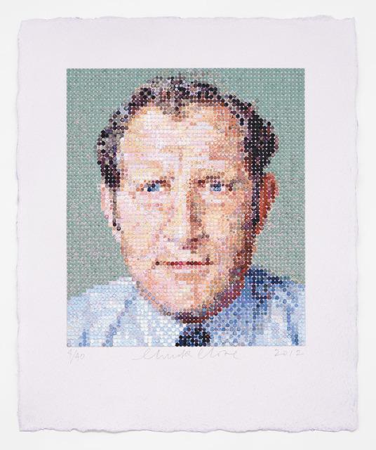 , 'Nat/Felt Hand Stamp,' 2012, Berggruen Gallery