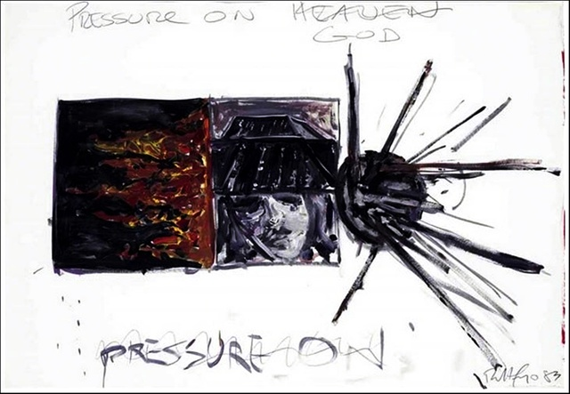 , 'Pressure on God (not Heaven),' 1983, Alpha 137 Gallery