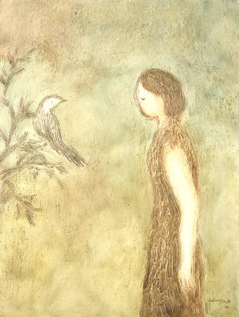 Wonsook Kim, 'Nightingale Cry', 2012, Georges Berges Gallery