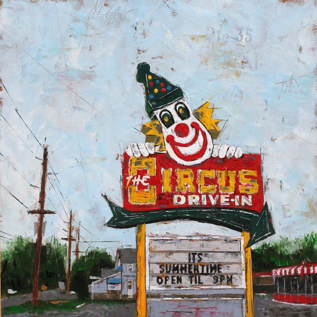 ", '""Circus Drive Inn"",' 2017, Parlor Gallery"
