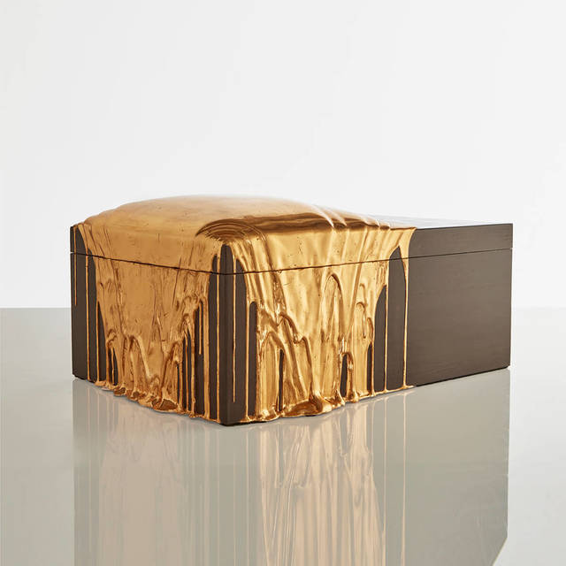 , 'Red Gold Pour Box ,' 2019, R & Company