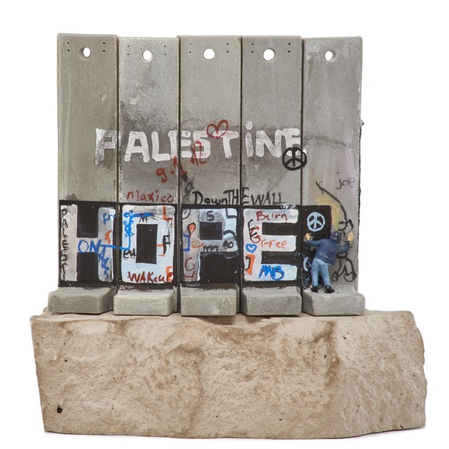 Banksy, 'Walled - Off Hotel Souvenir Wall Section (Hope)', 2017, Rago/Wright