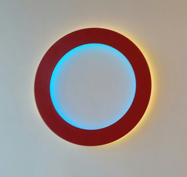 Collin Parson, 'Untitled (red circle)', 2016, Michael Warren Contemporary