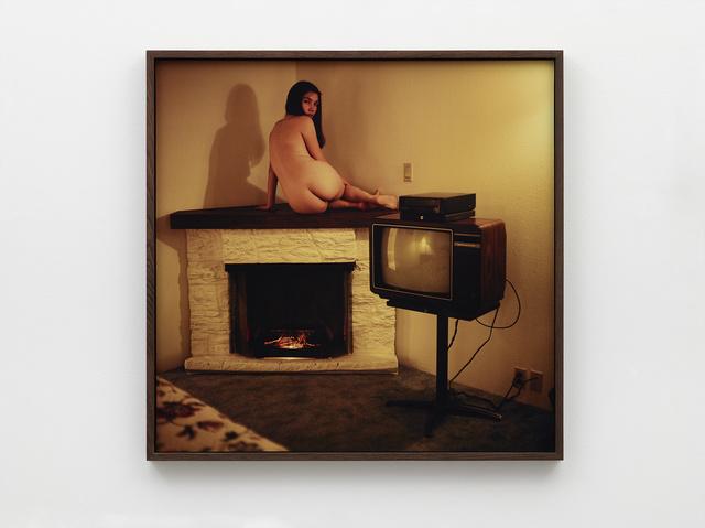 Ed Templeton, 'Deanna nude TV motel room', 2019, Nils Stærk