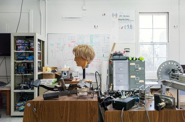 , 'Polymer Head, JPL, Pasadena,' 2013, Galerie Rüdiger Schöttle