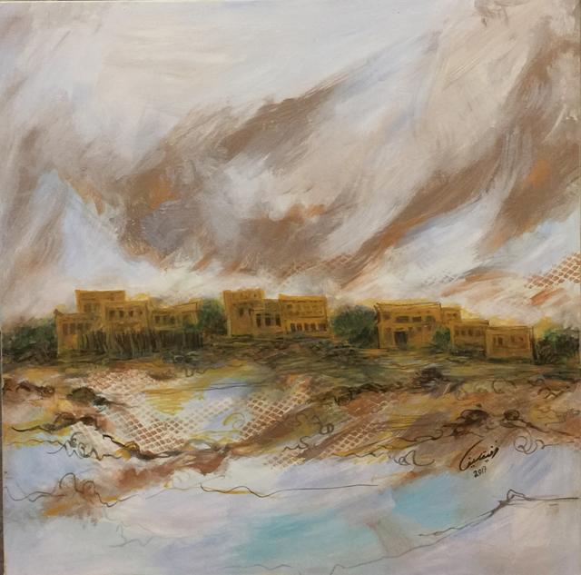 Wafika Sultan, 2017, al markhiya gallery