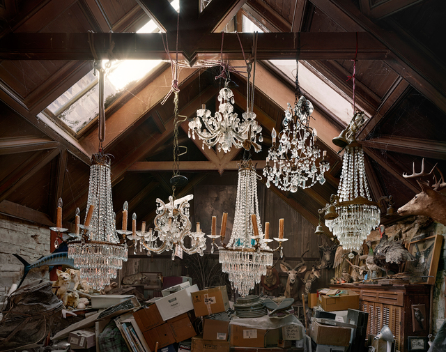 Andrew Moore, 'Art Gallery at the Dorsey Mansion, Union County, New Mexico', 2014, Kopeikin Gallery