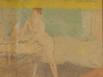 Untitled (Woman in Interior)