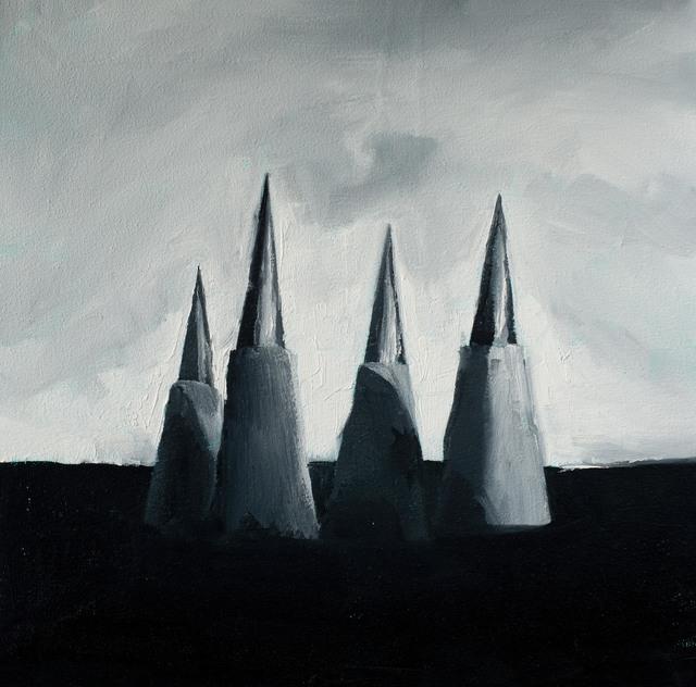 Wladymir Bernechea, 'Clavar el cielo', 2021, Painting, Oil on canvas, Isabel Croxatto Galería