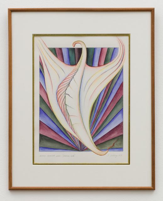 Faith Wilding, 'Imago Femina #28 (Phoenix Bud)', 1978, Anat Ebgi
