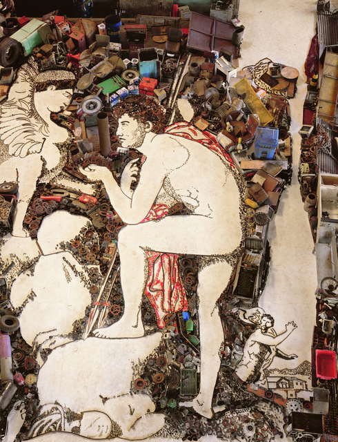 , 'Oedipus and Sphinx, after Jean Auguste Dominique Ingres (Pictures of Junk),' 2006, Corridor Contemporary
