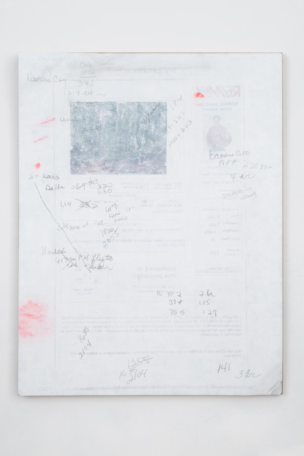 , 'DPS #36 North American Center (Notes from my Mother),' 2015, Bortolami