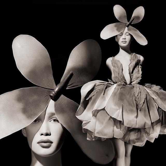 , 'Anitta, Flower Gown, New York,' 1987, Fahey/Klein Gallery