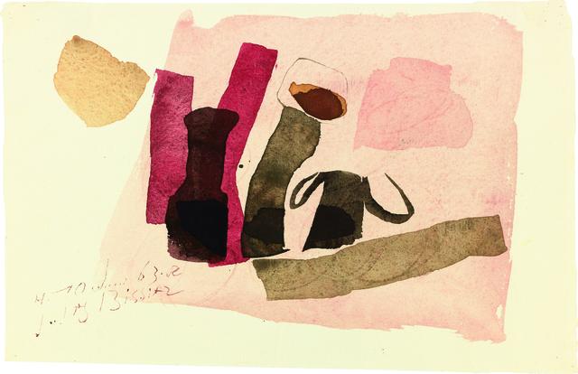 , 'H.10.Juni 63 R,' 1963, Galerie Carzaniga