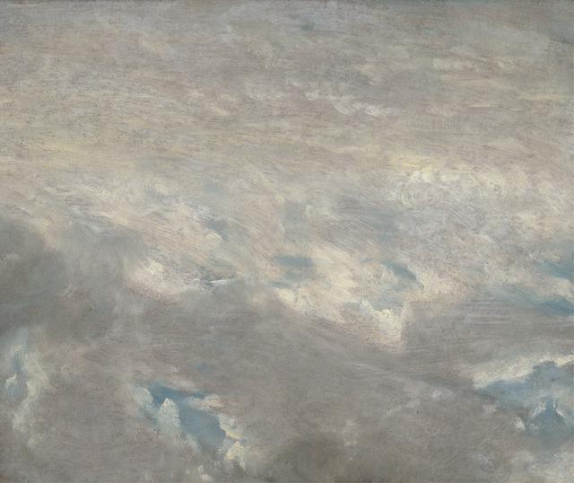 John Constable, 'Cloud Study', 1821, Yale Center for British Art