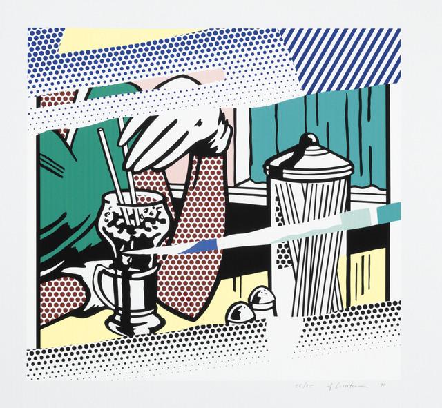 Roy Lichtenstein, 'Reflections on Soda Fountain', 1991, Christie's