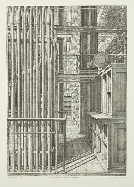 , 'Le Grand orgue pneumatique, from Le Magasin central des imprimés,' 2013, Childs Gallery