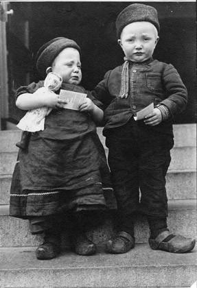 Augustus F. Sherman, 'Dutch Siblings', Photography, Digital print, Aperture Foundation