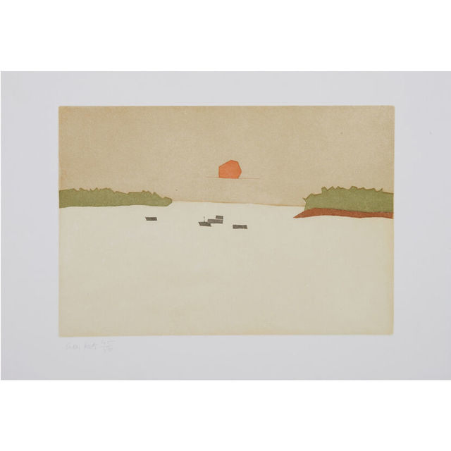 Alex Katz, 'Sunset Cove', 2008, Artsnap