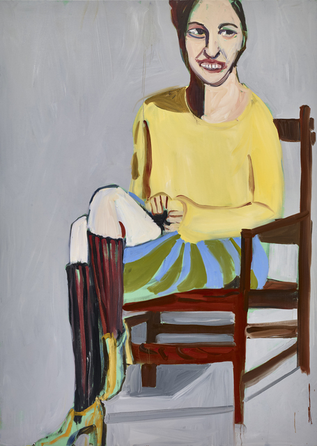 , 'Yellow Sweater and Knee Socks,' 2016, Victoria Miro
