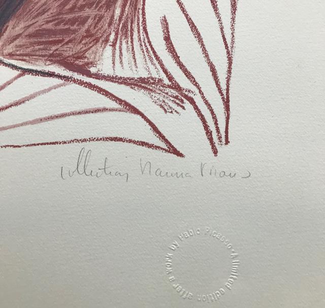 Pablo Picasso, 'VISAGE DE FEMME DE FACE', 1979-1982, Reproduction, LITHOGRAPH ON ARCHES PAPER, Gallery Art