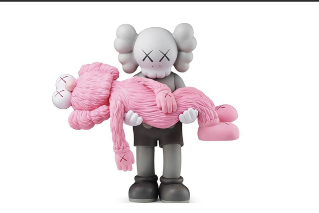 KAWS, 'Gone (Grey & Pink)', 2019, Curator Style