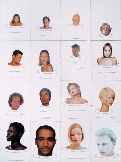 , 'Bain de minuit (16 personnes) C,' 1998, Galerie Laurent Godin