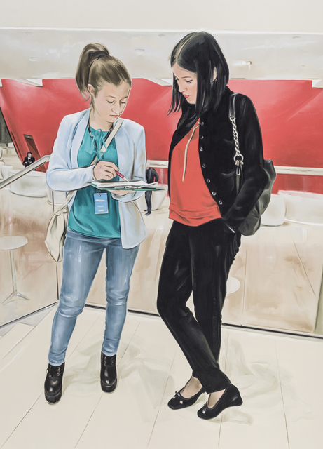 , 'Questionnaire,' 2018, Gallery Baton