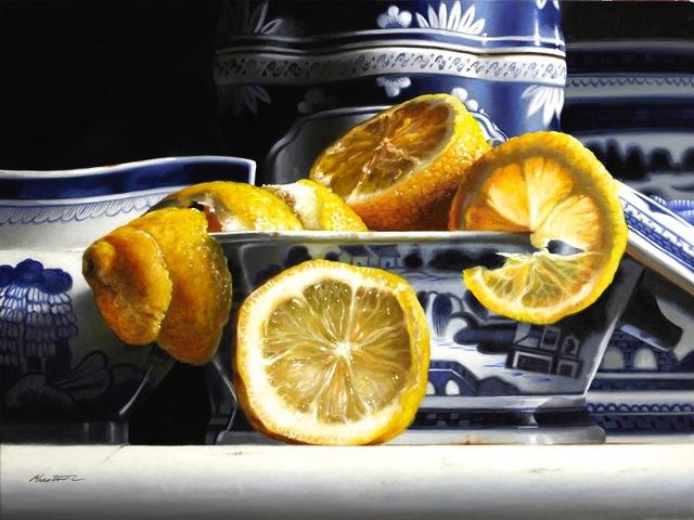 , 'Porcelain with Lemons,' , Beth Urdang Gallery